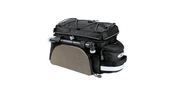Norco Kansas bagagebærertaske sort/sølv